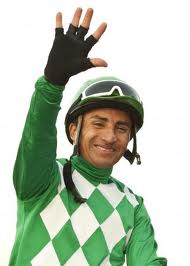 Rafael Bejarano won five races in one day yesterday for the second time at the current meet and third time in his career at Hollywood Park.