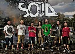 The reggae theme continues after the races with Soja in concert.