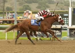 After getting her nose down for the upset in the Santa Anita Oaks, does Willa B Awesome have anything left in the tank facing Cal-breds in today's $300,000 Melair Stakes?